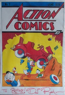 Don Rosa re-does Action Comics #1