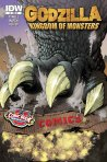 Godzilla-Kingdom of Monsters 1 Comic Book University
