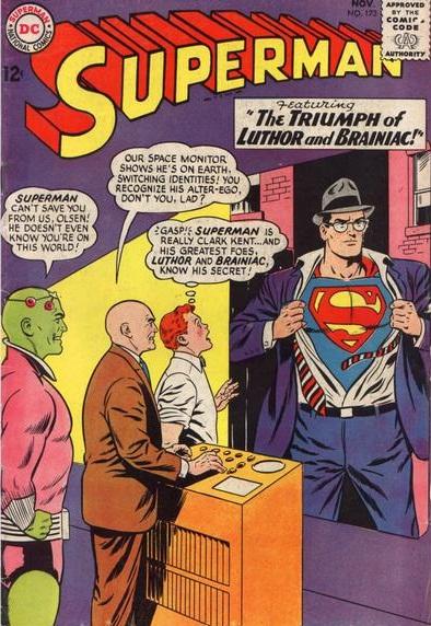 Superman Comic Book White Cover : Comic cover roulette evertime realms