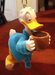 Donald Duck Wakeup Hallmark
