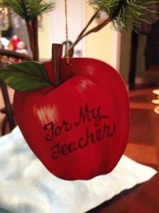 For Erin's teacher