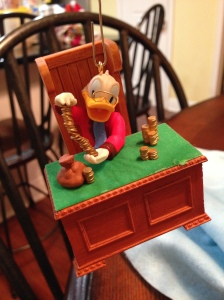 "Scrooge McDuck from ""Mickey's Christmas Carol"""