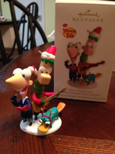Perry Christmas from Phineas and Ferb